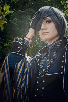 Ciel Phantomhive - Blue and Yellow by oishii-tomato