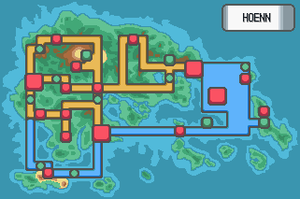New Hoenn Map by Mucrush