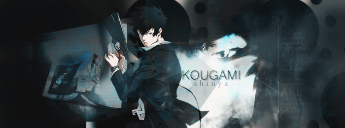 Kougami Shinya by BengiErol