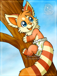 [Commission] Tree climbing by Veemonsito