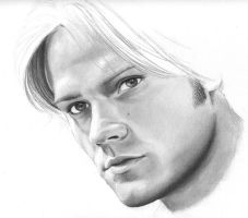 Sam Winchester - wip2 by cpss