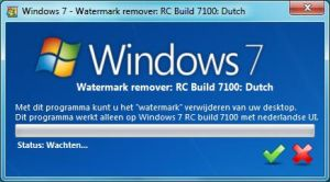 Windows 7 RC Watermark remover by joshoon