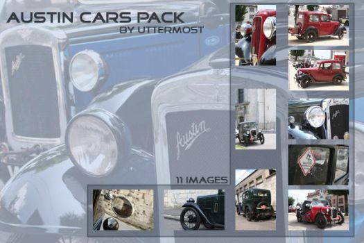 Cars: Old Austin Cars Pack by Uttermost