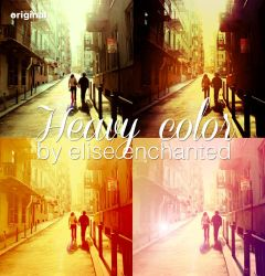 Heavy color actions by EliseEnchanted