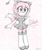 Lilium The Angel Kitty -My Sonic Fan Character- by AiKishii