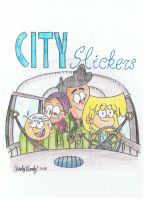 City Slickers Episode Poster by CandyRandy7D