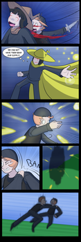 Undertale Green Chapter 4 Page 20 by FlamingReaperComic