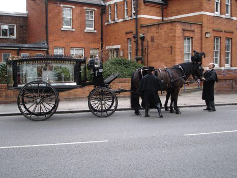 Funeral Carriage by jibrael786