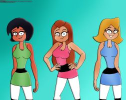TS Girls In Their PPG's Outfit by RDJ1995