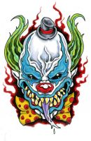 Evil Clown by scottkaiser