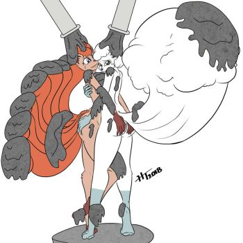 Cementing the Vulpix twins by VolcanoElement