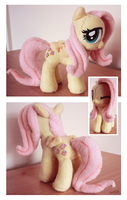 Plush #2: Fluttershy by SewYouPlushieThings