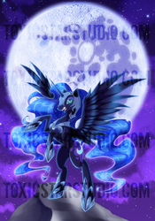 Princess of Darkness .:. Nightmare Moon by ToxicStarStudio