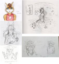 Moar Silja sketches by Aidaided
