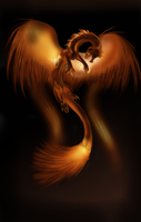 Fire dragon by celticessence
