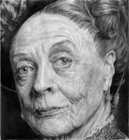 Grannies 12#05. MAggie Smith / Lady Violet by ArualJay