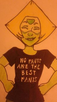 Peridot No Pants Are The Best Pants by Spurlia