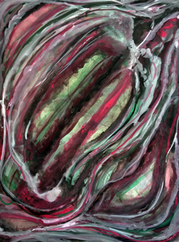 Color Theroy Synesthesia Painting by joycie24