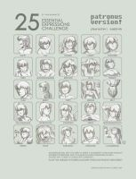 25 Expressions: Samireh by patronustrip