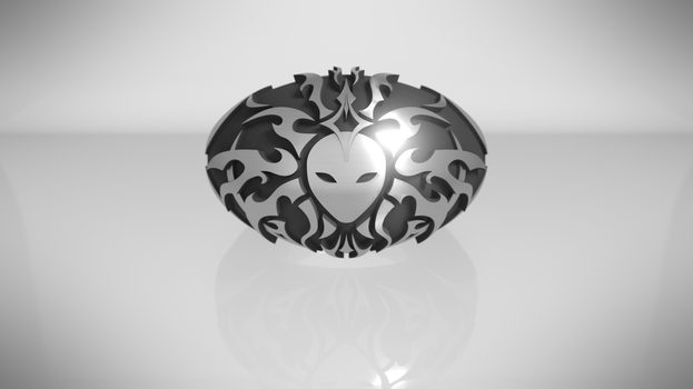 Lady of Pain ring ! (front) by Hell-948