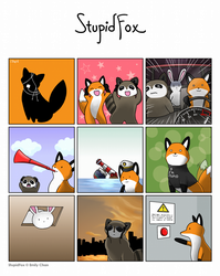 StupidFox contest entry by XieRH