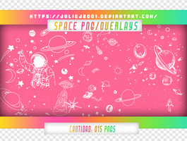 SPACE PNGS/OVERLAYS by JulieJ2001