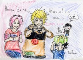 Naruto-kuns birtday! by DenAndre