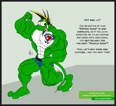 Comic - Yetshi's Ripping Show - Final part by McTaylis