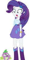 Equestria Girls - Rarity - Gah by Fangz17