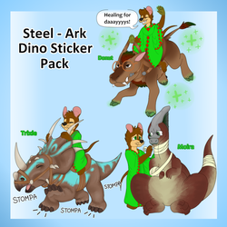 Steel the Warrior Expansion Pack 3 Dino Edition by KhramChee