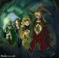 Founders and Caves by carrinth