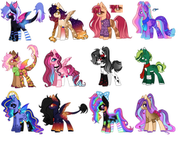 .:Pony(or Horses) mix Auction -Open (01/12):. by KyannePopys