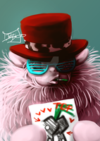 MLP:FIM - Fluffle Pimp by MadCookiefighter