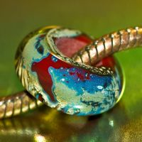A Bead Named Cuppas by copperrein