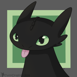 Toothless by TwistDragon