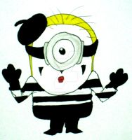 Mime Minion by InkArtWriter