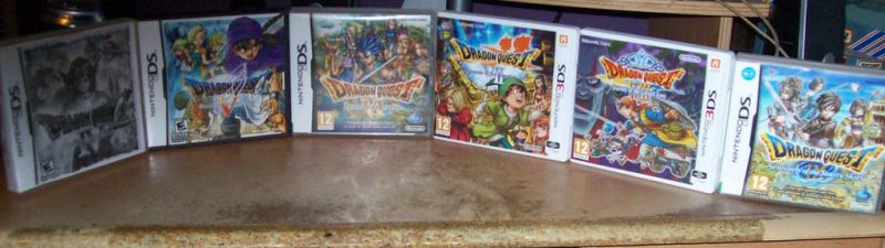 My Dragon Quest Collection by KingLeoLionheart