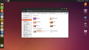 Ubuntu theme for Win10 by hamed1987s