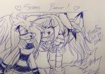 Sisters Forever! by KurobaFox1412