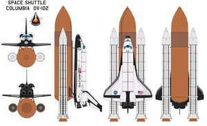 Space Shuttle Columbia OV-102 by bagera3005