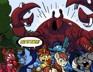 PUT IT BACK! (CAC Crab Battle) by LateCustomer