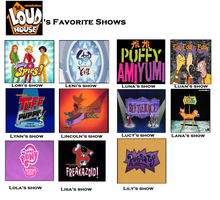 The Loud House's Favorite Shows by Prentis-65