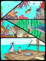 ARK STORY Pt 3 - Into the Blue by DjayMasi