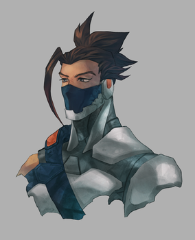 Cyberninja Hanzo by gemkimart