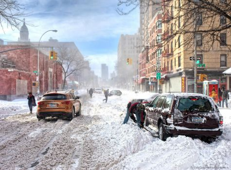 And it's winter here .. NYC by ZQPhotography