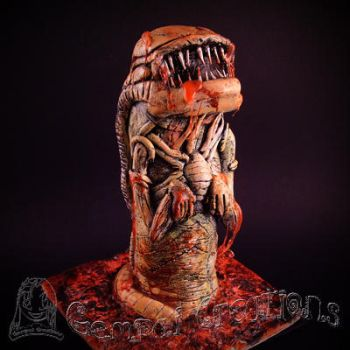 Chestburster Sculpture by Gempai-Creations