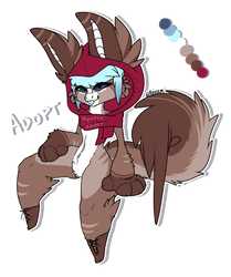 Anthro adopt / Closed by RyodsoAdopts