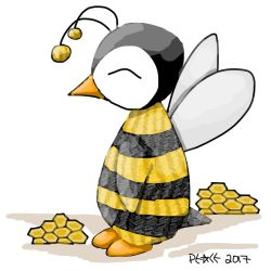 Penguin 60: Bumble birdy by arxtici