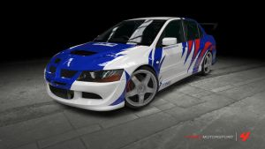 Mitsubishi Lancer EVO VIII - NFS: Most Wanted by OutcastOne