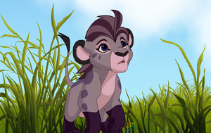 Jasiri as a Lion Cub by dippygamer64